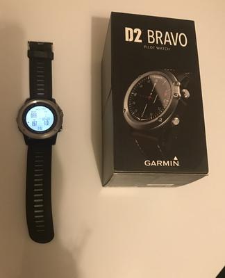 Offre équipement pilote Montre aéro Garmin D2 Bravo