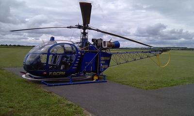 Vente hélicoptère Aerospatiale Alouette Ii